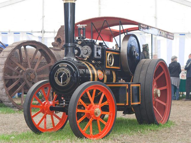 Traction Engine Wheels & Rubber Tyres – BH Leake & Sons ...